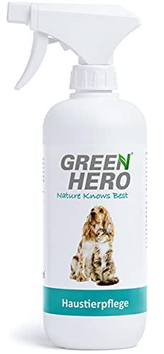 Green Hero Haustierpflege Pflegt die Haut bei Juckreiz Milben Pilz Räude Reizungen Läusen und unterstützt den...