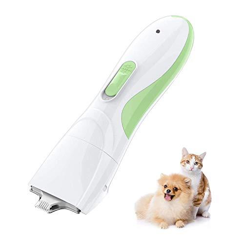 TR Turn Raise Schermaschine für Katze und Hund, Hunderasierer mit Wenig Lärm Geringe Vibration für Pfoten Gesicht...