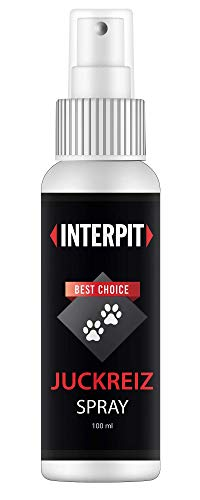 Interpit Juckreiz Spray für Haustiere, Naturprodukt & HOCHWIRKSAM bei Juckreiz oder Entzündungen - Pflegt Haut & Fell...