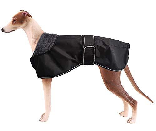 Morezi Wasserdichte Hundejacke für den Winter, mit warmem Fleece-Futter, Outdoor-Kleidung, mit verstellbaren Bändern...