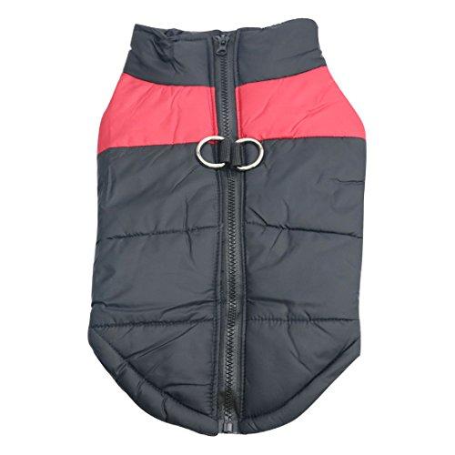 Idepet Haustier Hund Warm Mantel Jacke Wasserdichte Kleidung Kleine mittlere große Haustier Hund Katze Bekleidung...