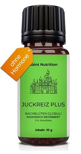 Saint Nutrition® JUCKREIZ Plus Globuli für Haustiere, Hilfe bei Hautreizungen & pflanzliches Mittel für Hunde und...
