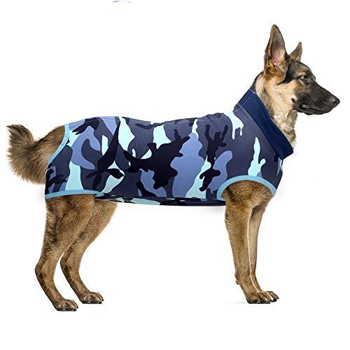 Recovery Suit Hund, Kleidung für Genesung nach der Operation E-Kragen Alternative für Hunde Haustiere Kleidung...