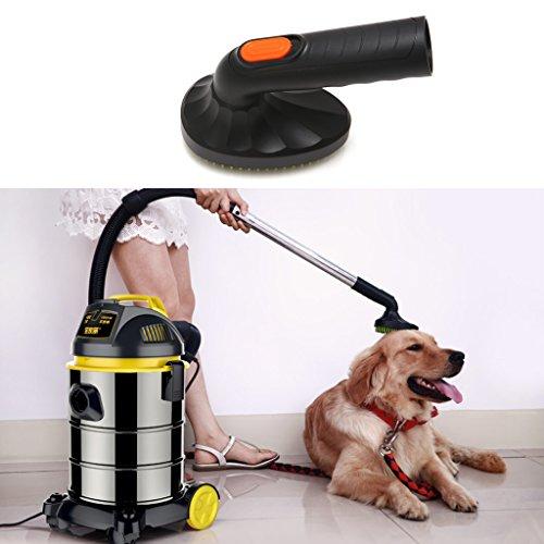 Luoxxxka Fellpflegebürste für Katzen oder Hunde, 32 mm